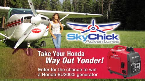 Win a Honda Generator!