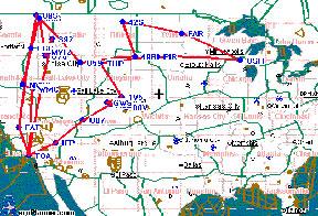 Air Camping Map