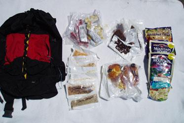 Backpack Food
