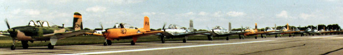 T-34 Taxiing in Trail 1