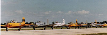 T-34 Taxiing in Trail 2